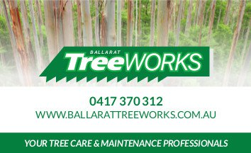 Ballarat Treeworks Business Card