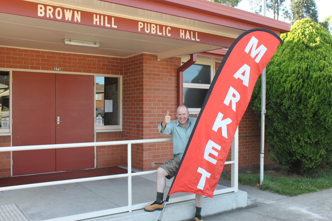 Brown Hill Market Manager, Steve Burns